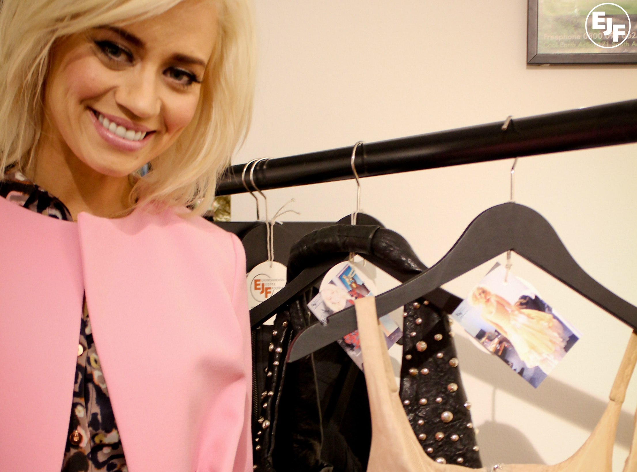 Kimberly Wyatt Donates Red Carpet Clothes To Ejf Pop Up Shop