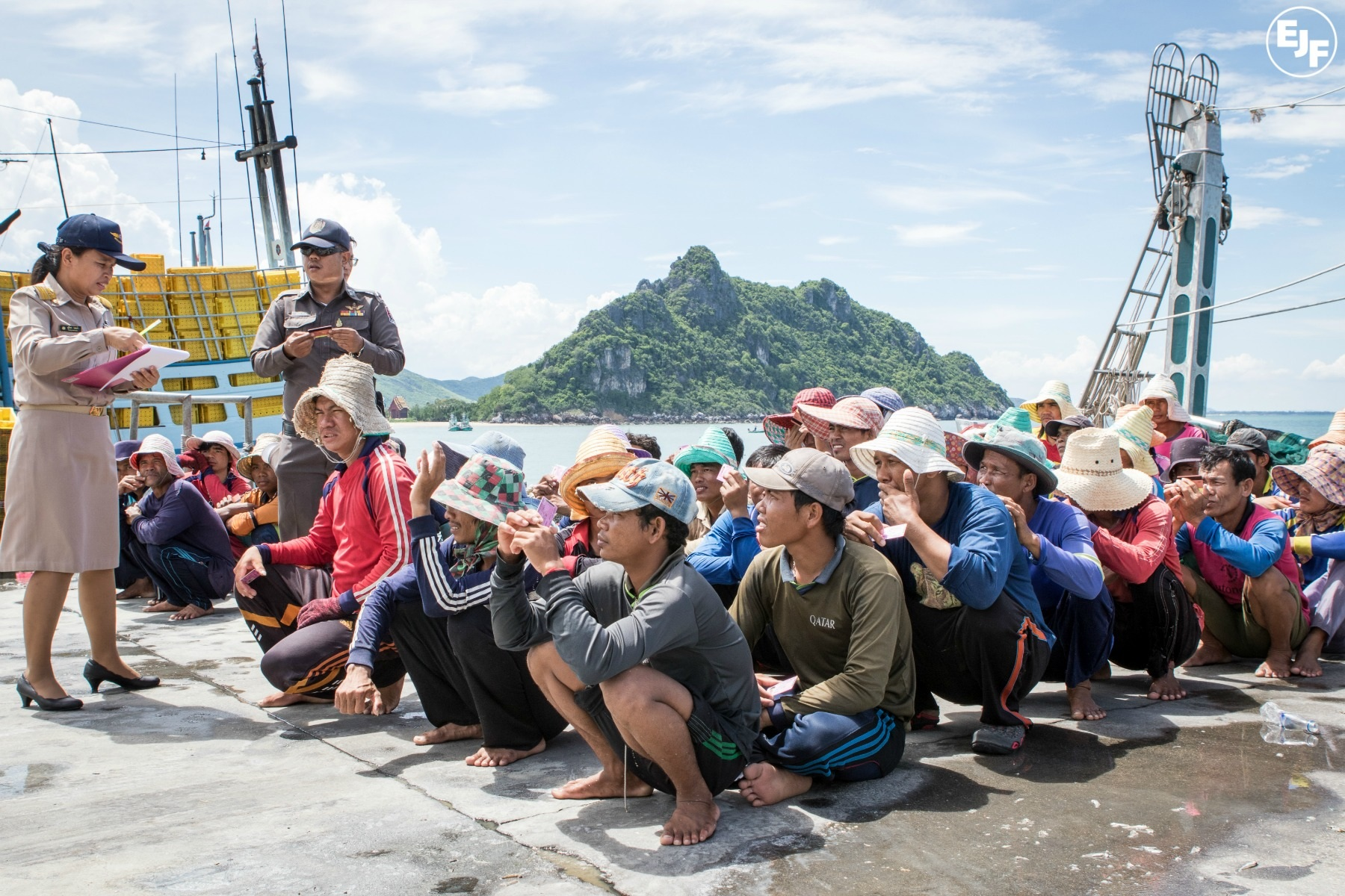 EJF in the field: Vessel monitoring training in Thailand