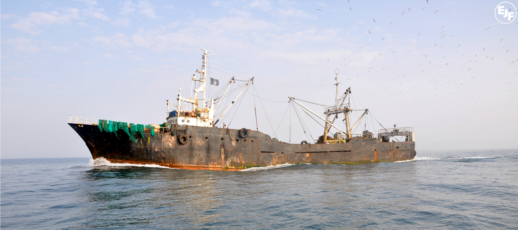 Pirate fishing vessel seized in Liberia