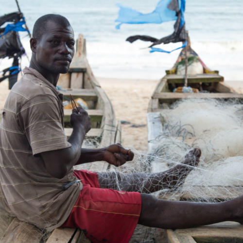 Fisheries project in Ghana hears of conflict between local fishing communities and industrial vessels