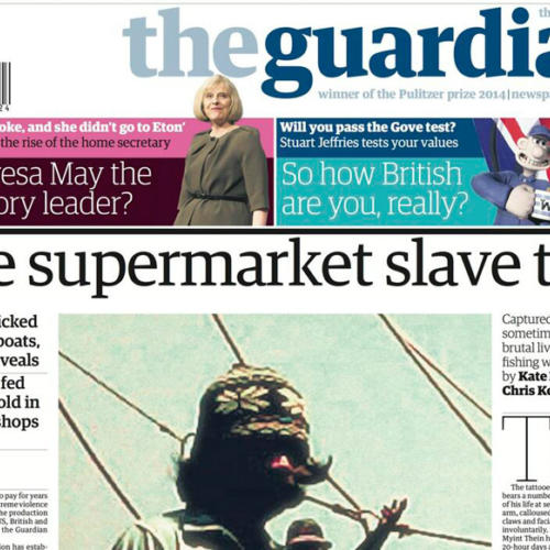Modern Slavery on Thai trawlers exposed by the Guardian