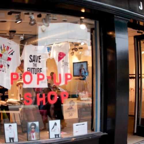 6 more weeks for EJF's pop up shop on Carnaby Street