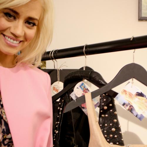 Kimberly Wyatt donates red-carpet clothes to EJF pop up shop