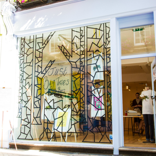 EJF opens new pop up shop on London's iconic Carnaby Street to Save the Bees.