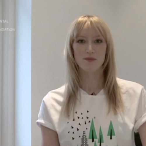 Jade Parfitt supports the Climate Week T-shirt for EJF
