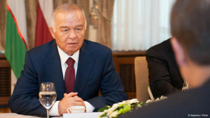 EU welcomes Uzbek President Karimov