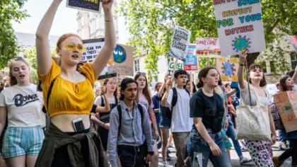Mach mit beim weltweiten Klimastreik!