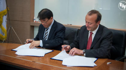 EJF and Republic of Korea sign ground-breaking MOU formalising joint initiative to combat IUU fishing