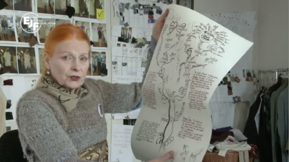 "Vivienne Westwood on her ""War and Peace"" T-shirt"