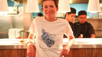 Wahaca's Tommi Miers: Save the Sea Campaign