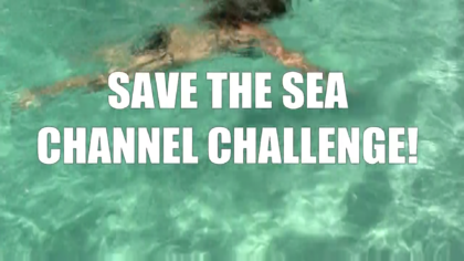The Channel swim challenge!