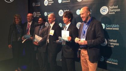 EJF wins 2015 Seafood Champion Award for Advocacy at SeaWeb Seafood Summit