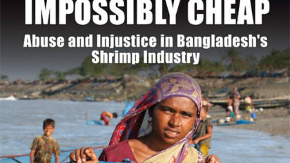 EJF releases report into human rights and labour abuses in the Bangladesh shrimp industry