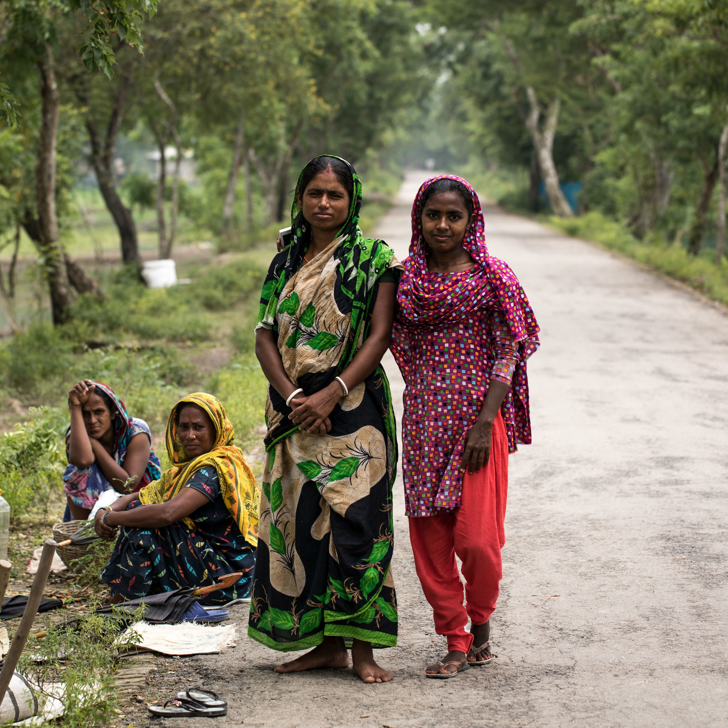Cropped Women On Road 2