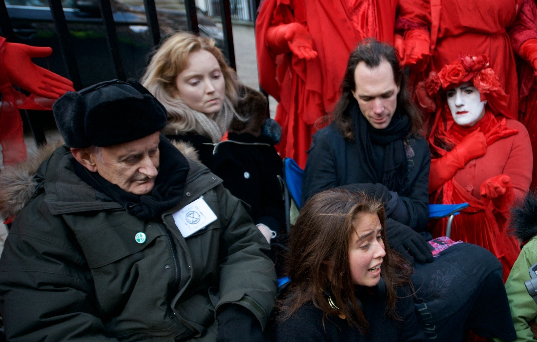 Lily Cole supports hunger strikes for climate action