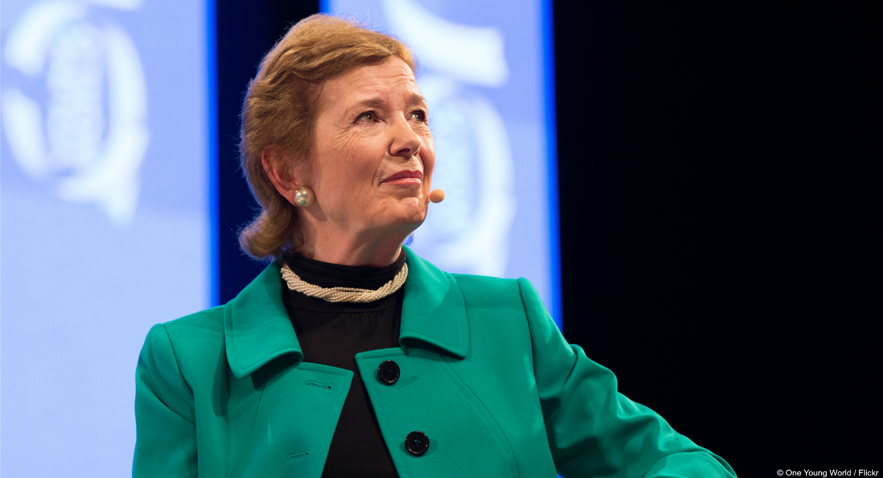 EJF welcomes the news that Mary Robinson has been appointed as the United Nations Secretary-General's Special Envoy for Climate Change.