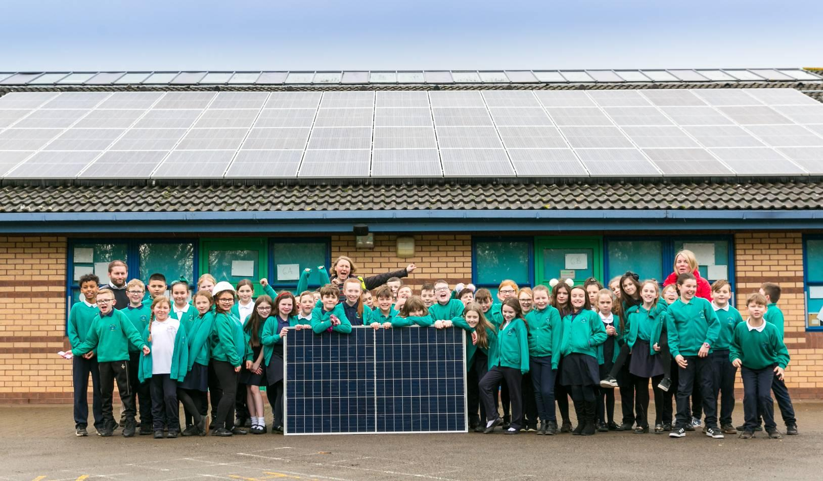 Renewable energy project hits £2m investment target