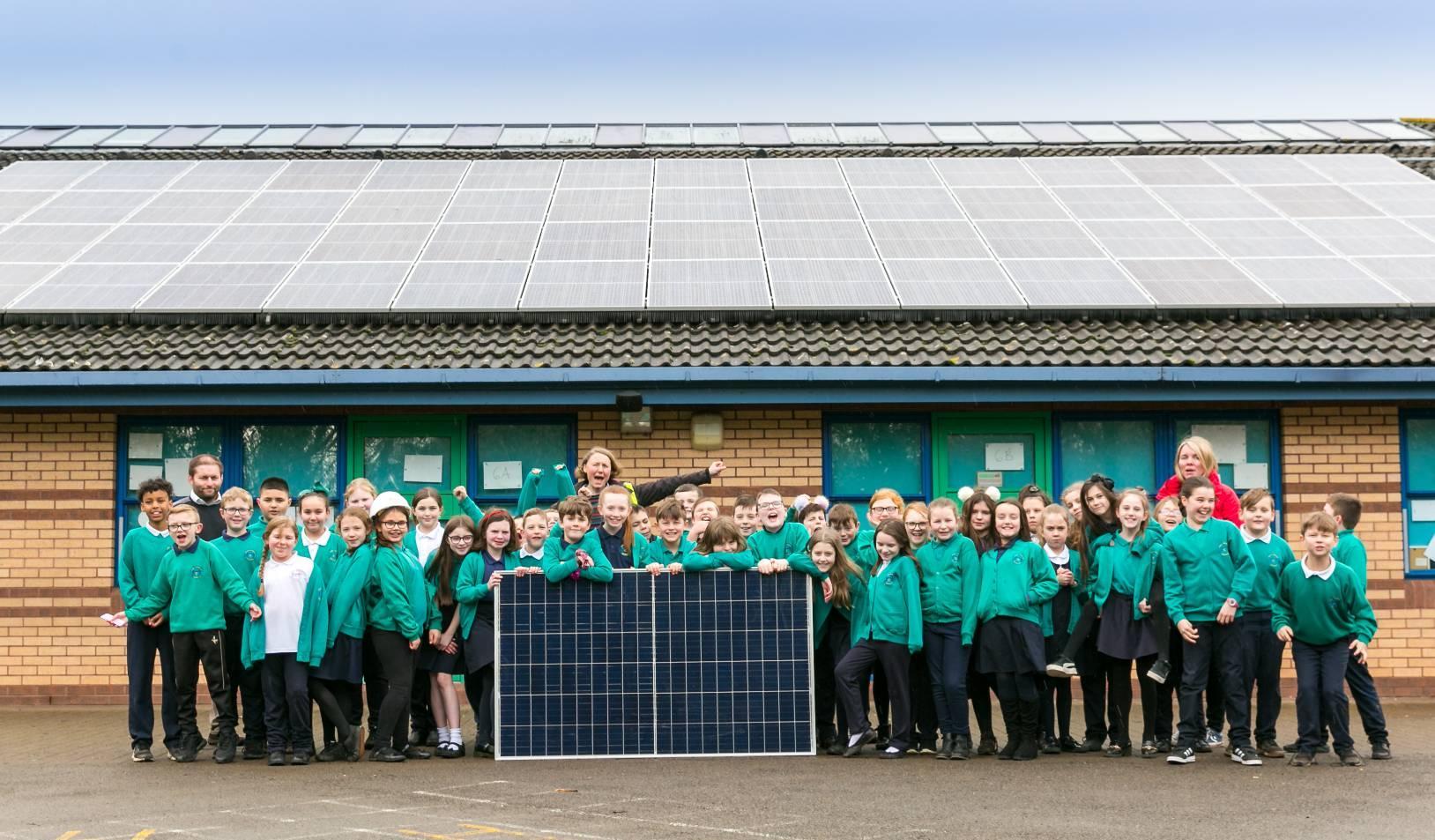 Projekt für erneuerbare Energien erreicht Spendenziel