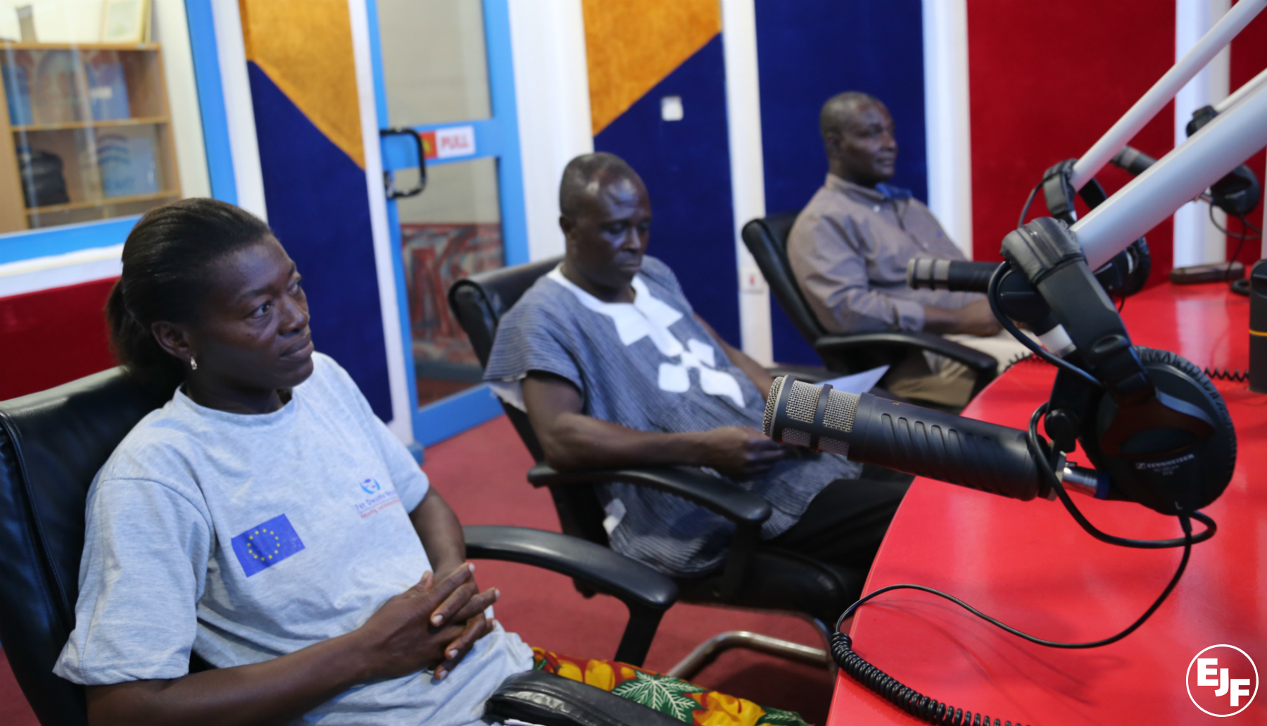 EJF and partners Hen Mpoano launch regular radio show in Cape Coast, Ghana