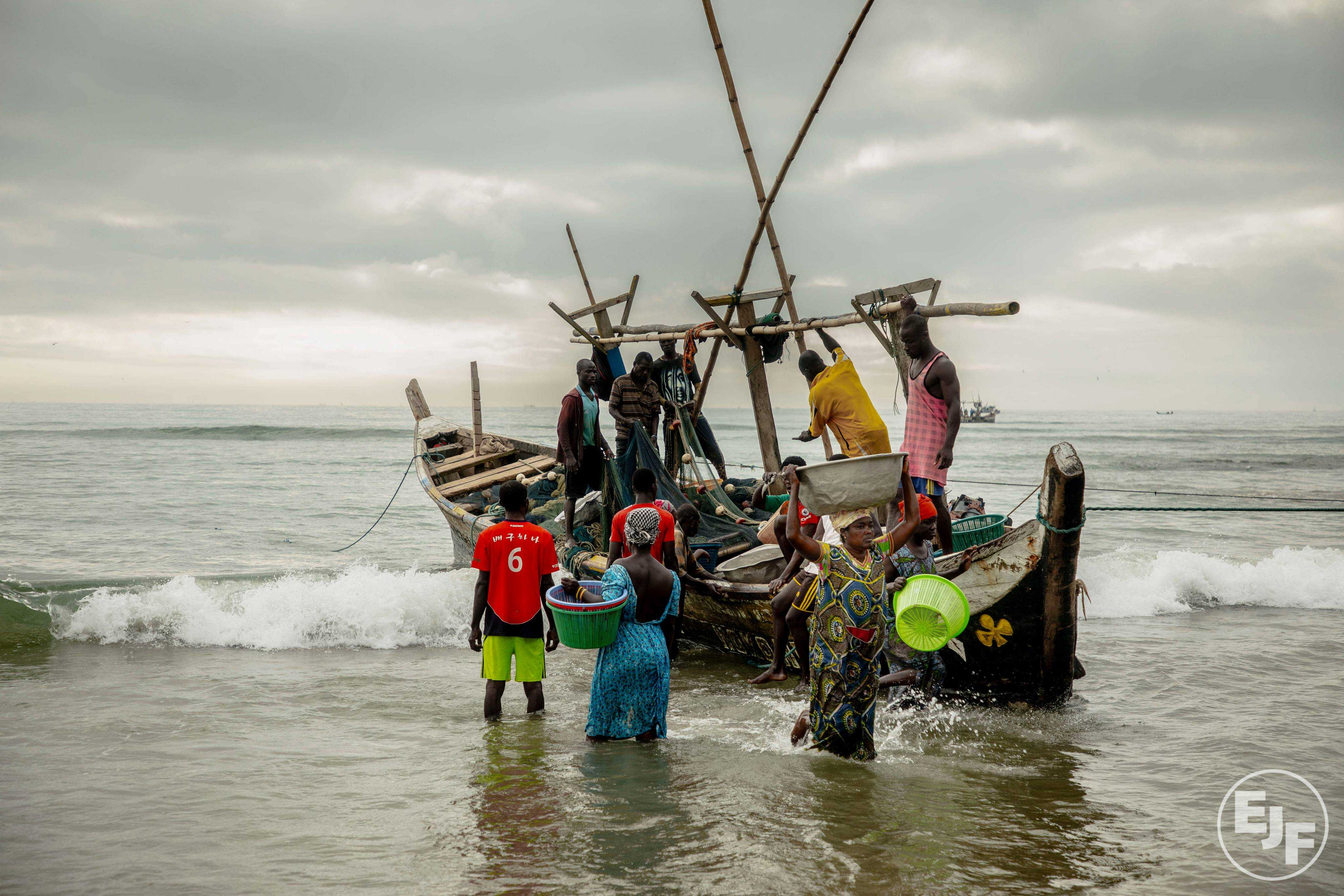 Ghana given second 'yellow card' warning from EU over illegal fishing