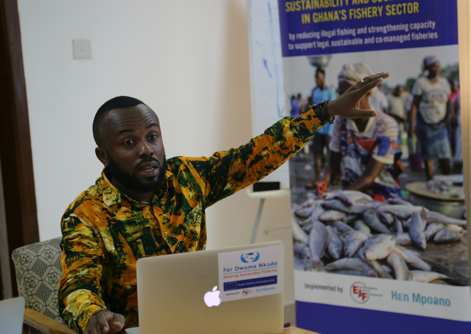 Supporting journalism in Ghana