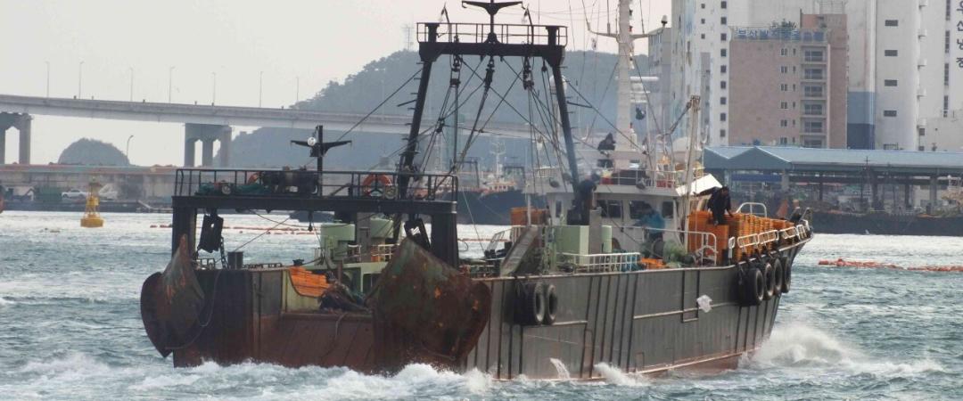 Korea: Missbrauch und illegale Fischerei auf Schiffen, die in die EU, USA und nach Großbritannien exportieren