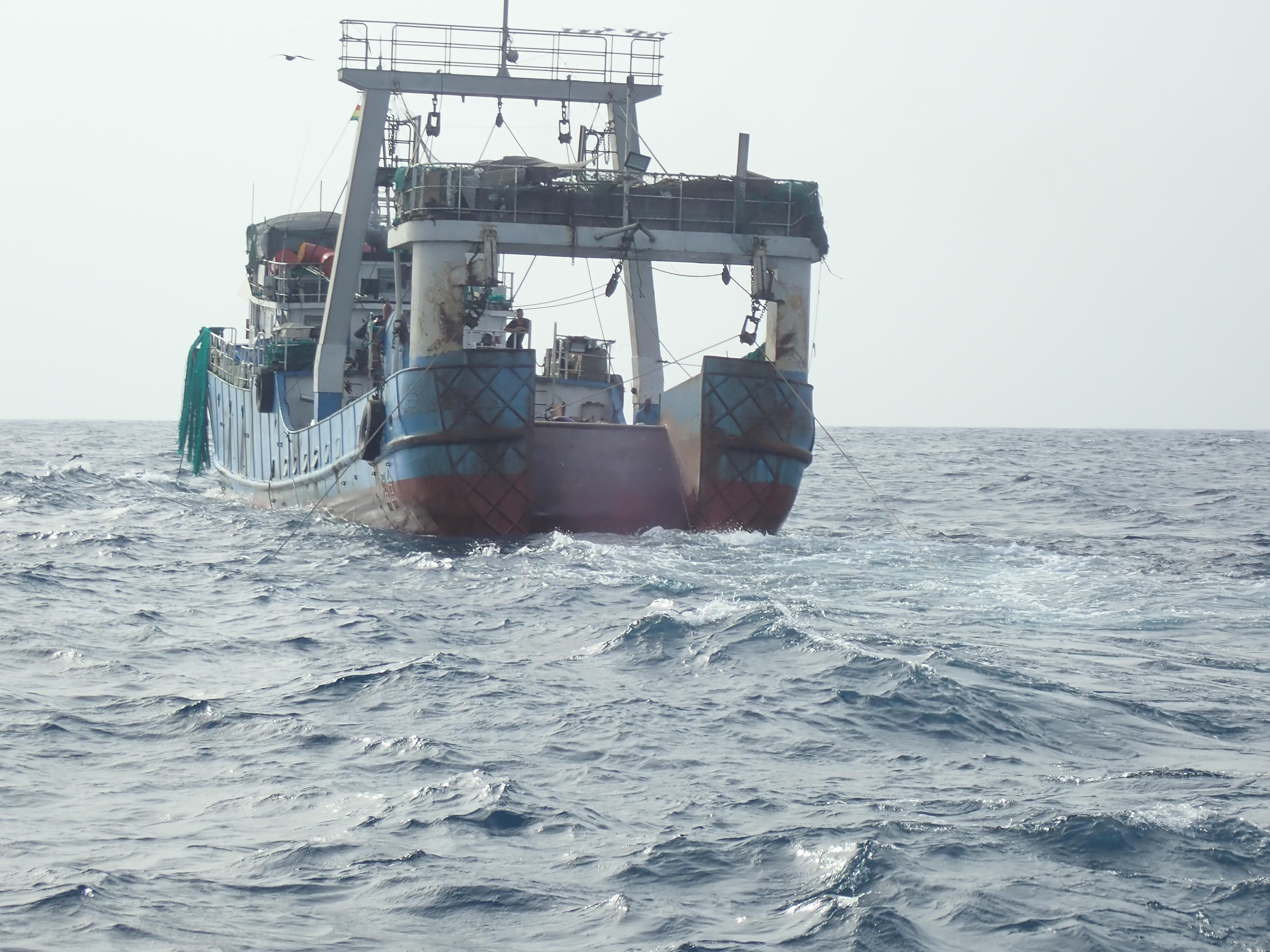 Warning to EU over imports from vessels fishing illegally in Ghana