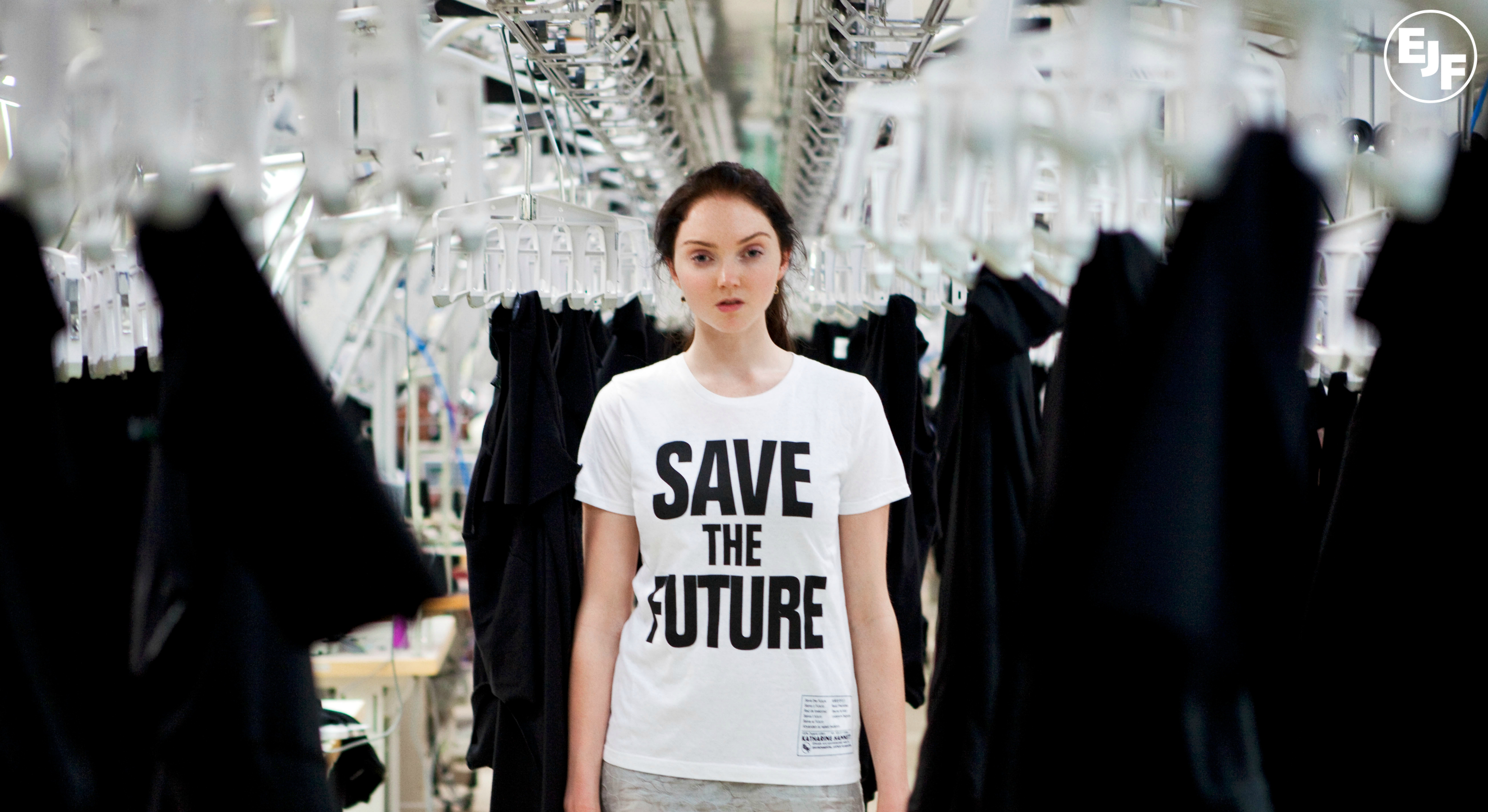 Lily Cole and Vivienne Westwood at EJF event at Selfridges