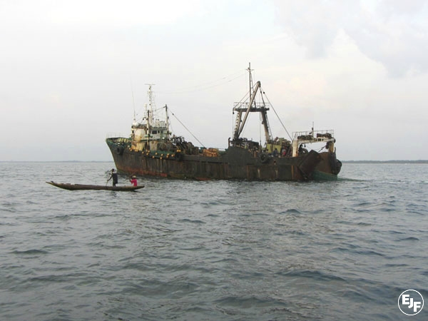 "EJF calls for urgent action by the Sierra Leone government to protect its fisheries resources after EU warns country on its failure to combat illegal ""pirate"" fishing"