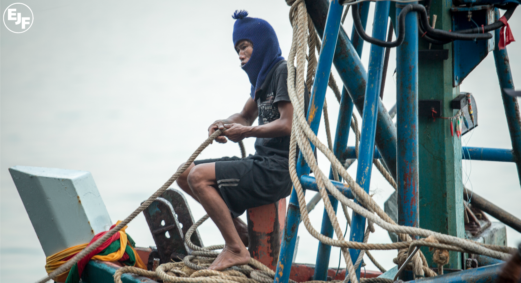 'Still at sea': The forgotten men forced to work aboard Thailand's 'pirate' fishing vessels