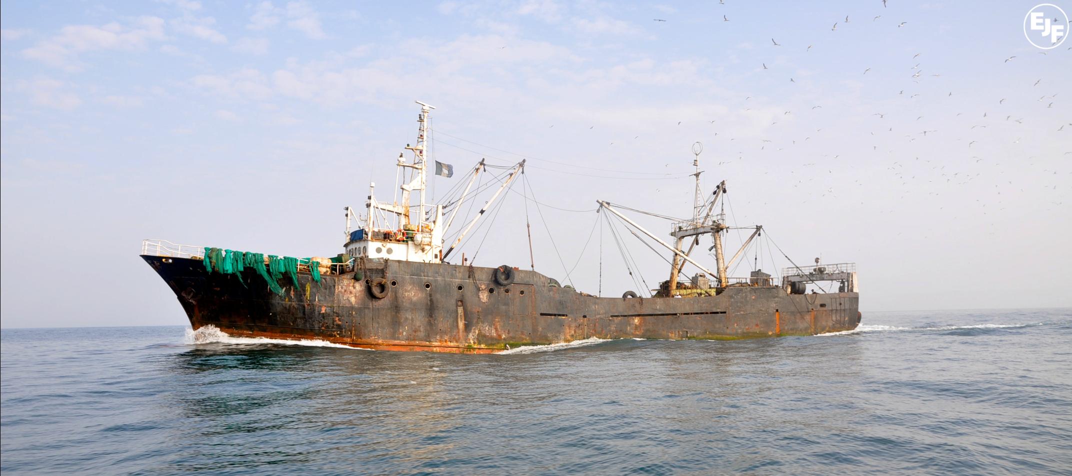 Pirate fishing vessel seized in Liberia