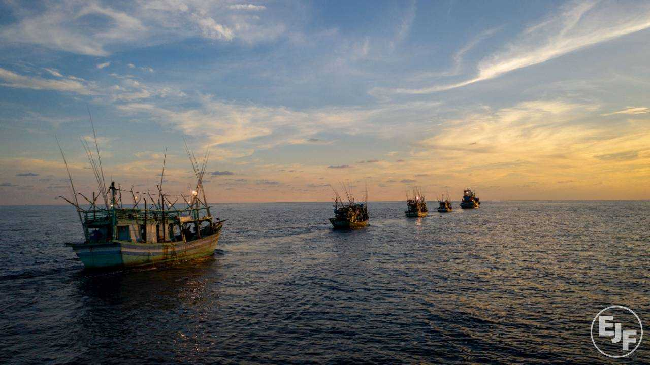 Rampant illegal fishing, child labour and grinding poverty: EJF report on Vietnamese fleet
