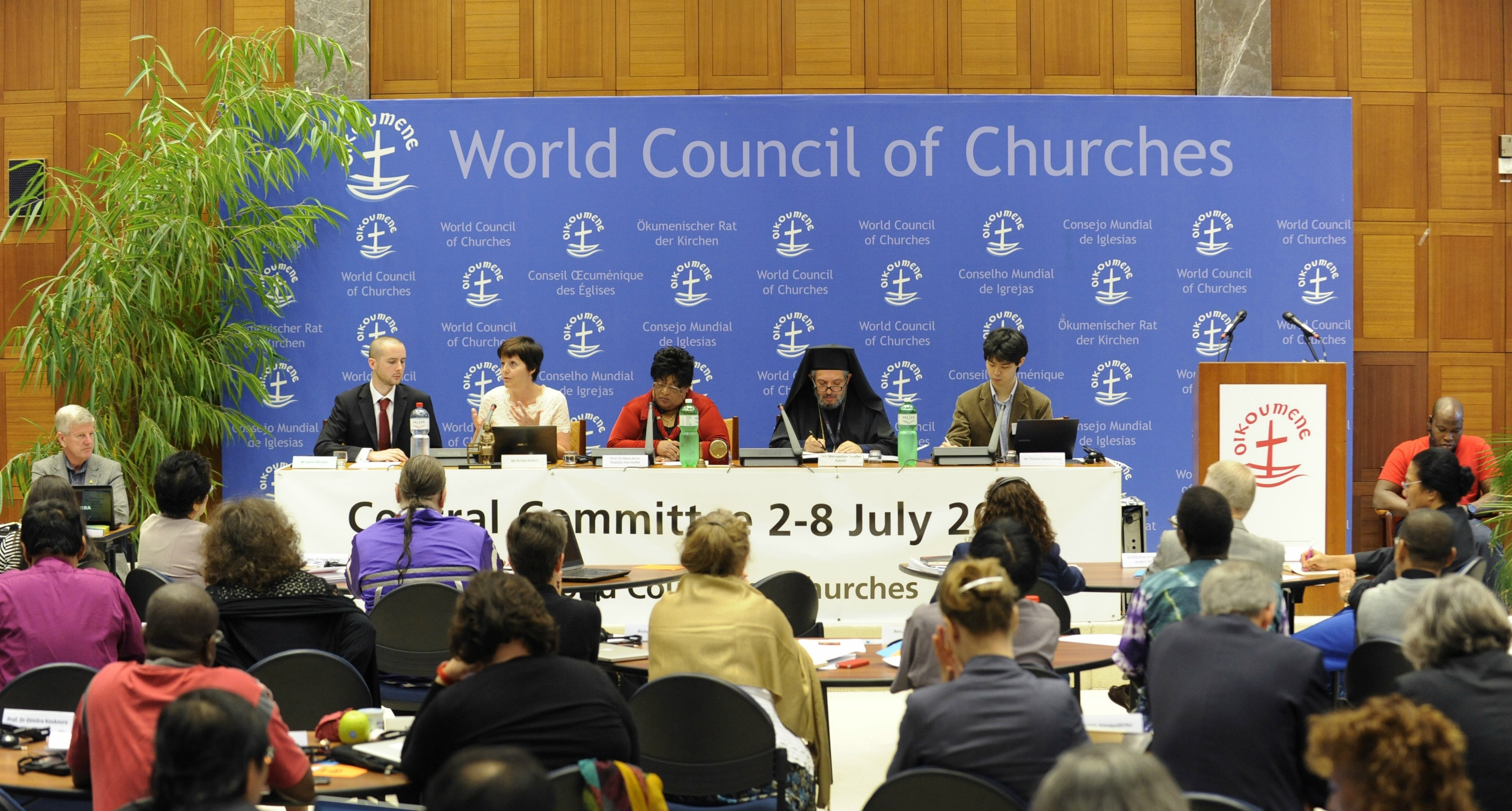 EJF presents to World Council of Churches Central Committee