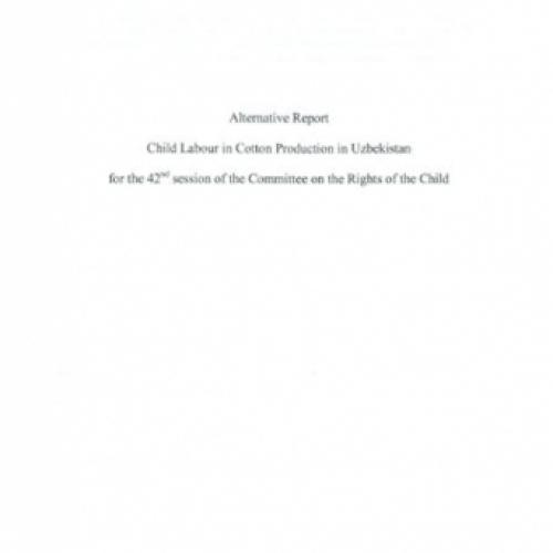 EJF Uzbekistan UNCRC Submission