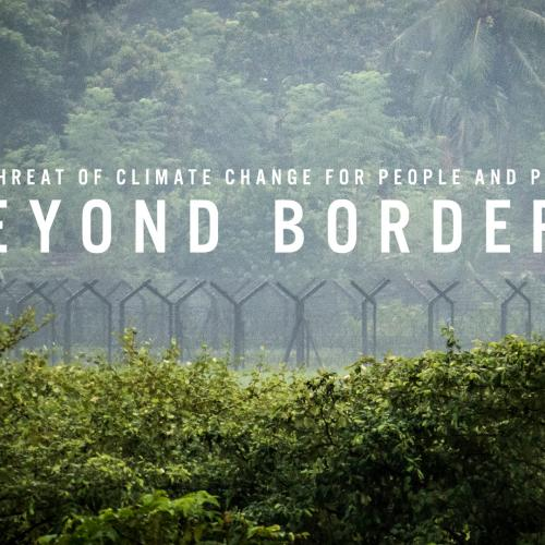 Beyond Borders - the threat of climate change