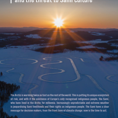Rights at risk: Arctic climate change and the threat to Sami culture