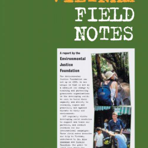 EJF Vietnam Field Notes