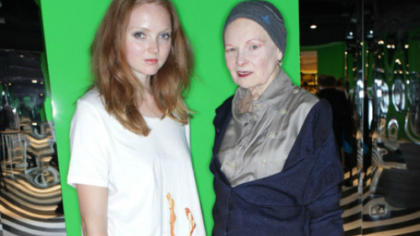 Dame Vivienne Westwood and Lily Cole join EJF at Selfridges