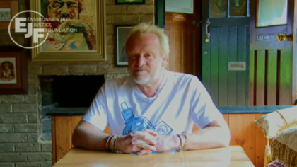 Antony Worrall Thompson supports EJF's Save The Sea Campaign