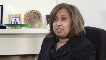 An advocate's concern: Dr Purna Sen, head of Human Rights Commonwealth Secretariat