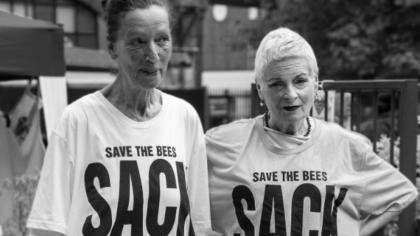 EJF at Urban Outdoors festival featuring Vivienne Westwood & Katharine Hamnett
