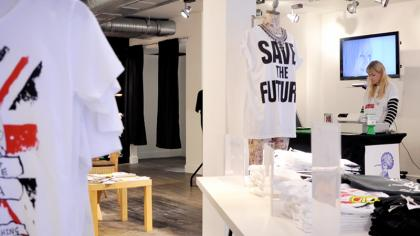 Just: Pop Up Store in Carnaby Street 2012