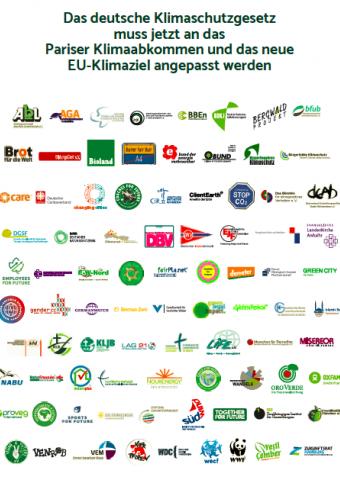Verbändeappell zur nationalen Umsetzung des erhöhten EU-Klimaziels