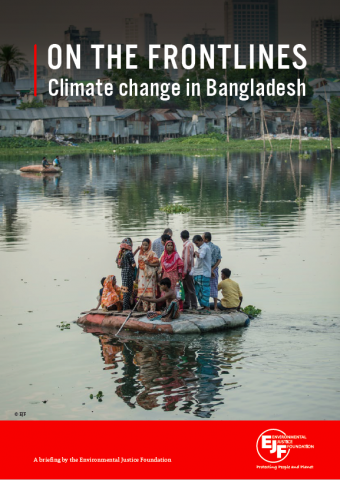 On the frontlines. Climate change in Bangladesh