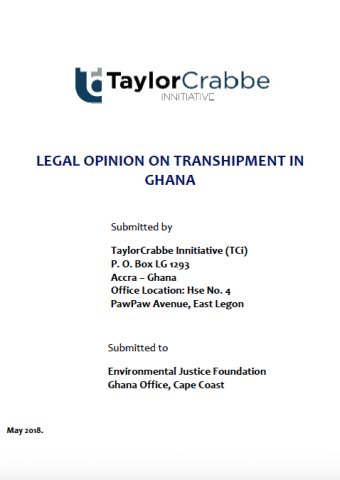 Legal Analysis on Transshipment in Ghana