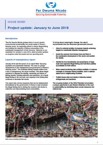 Far Dwuma Nkodo project update: January – June 2019