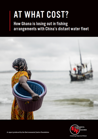 At what cost? How Ghana is losing out in fishing arrangements with China's distant water fleet
